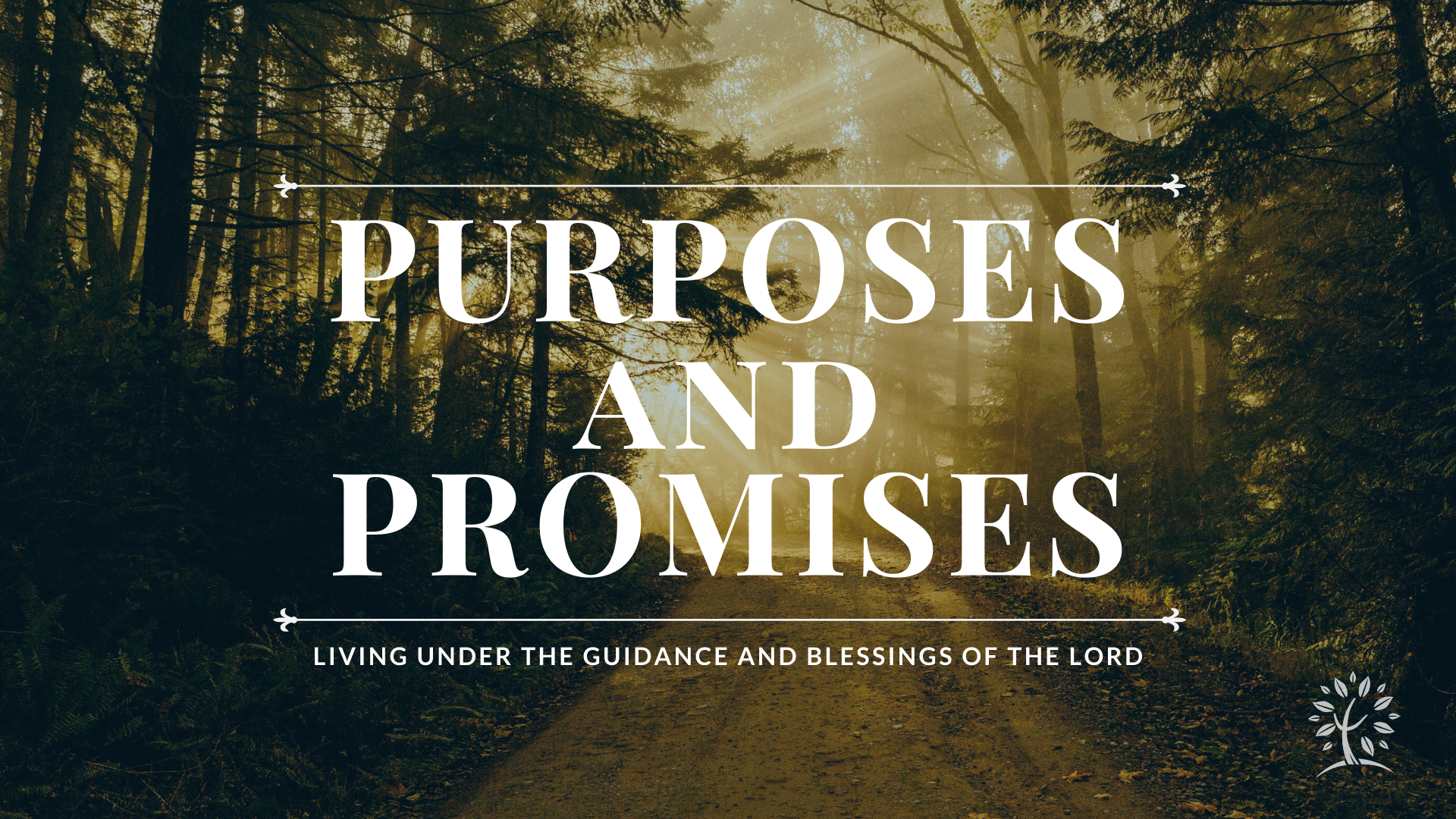 Purposes and Promises
