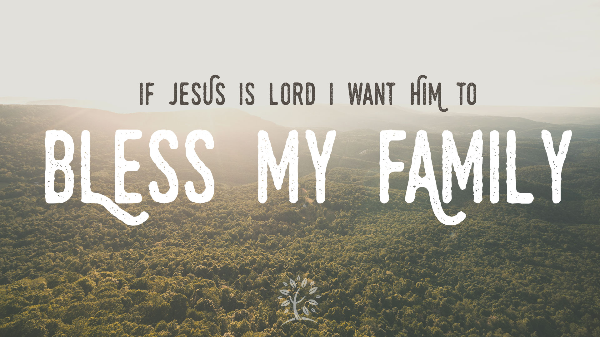 Series: <span>I Want Jesus To Bless My Family</span>