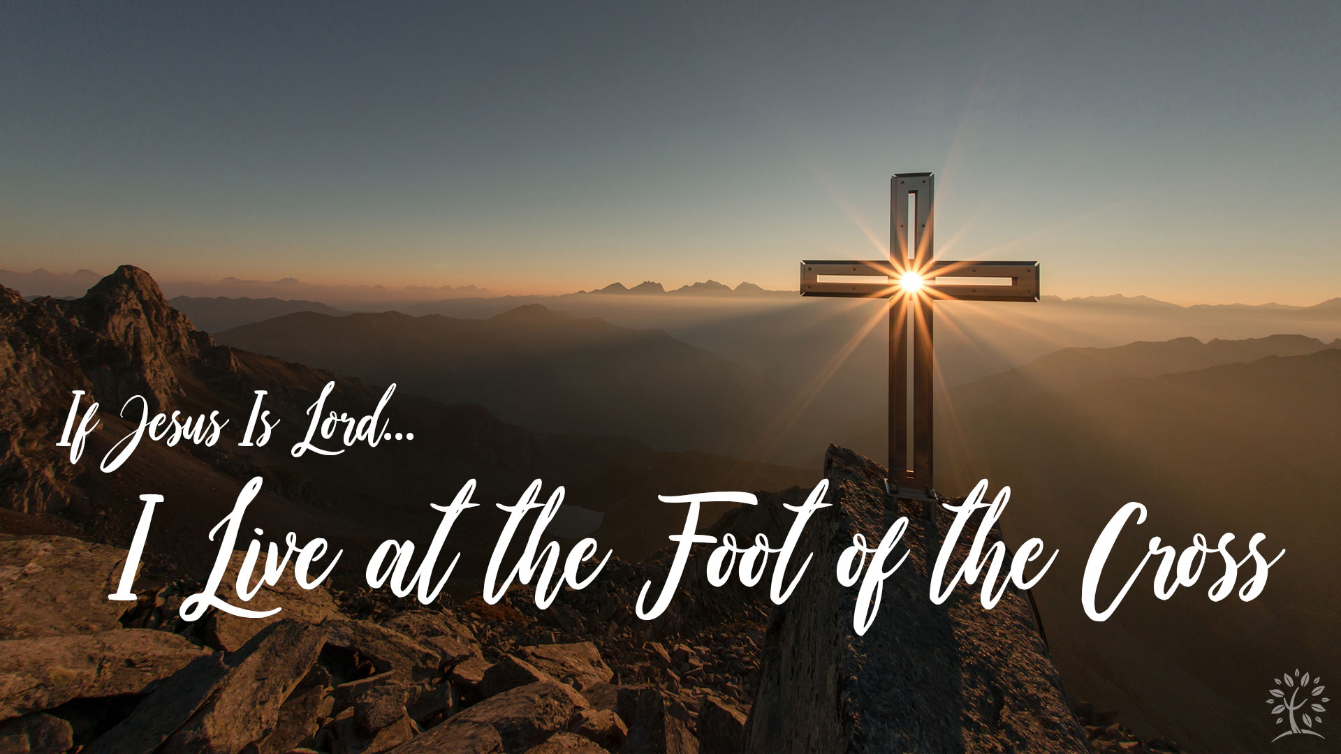Series: I Live at the Foot of the Cross